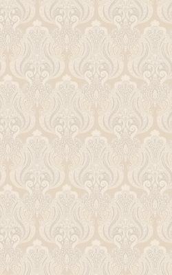 کاغذ دیواری پذیرایی گل داماسک کلاسیک آمریکایی کد 40707