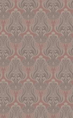 کاغذ دیواری پذیرایی کلاسیک گل داماسک ساخت آمریکا کد 40709