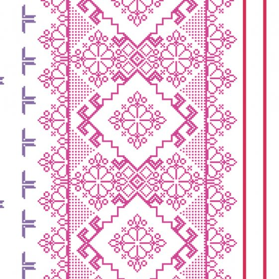 کاغذ دیواری مدرن بونت کد ۴۶۹۲۴ با رنگ شاد و کاملا قابل شستشو