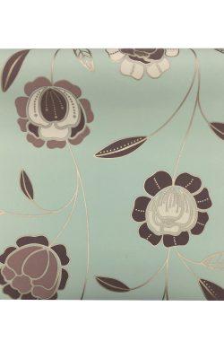 کاغذ دیواری مدرن گلدار ساخت انگلستان اوریجین قابل شستشو ۱۷۶۰۹ Origin