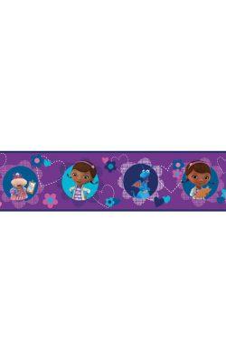 حاشیه کاغذ دیواری اتاق کودک پرنسس مکی دیزنی آمریکا کد DS7676BD