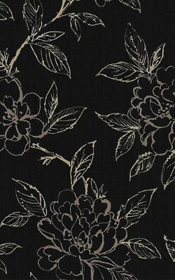 کاغذ دیواری گلدار قابل شستشو با قیمت مناسب کد 18056 ثریا