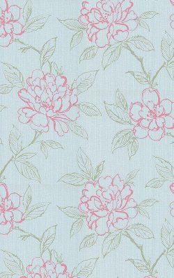 کاغذ دیواری اتاق خواب کوچک گلدار با قیمت مناسب کد 18070 ثریا
