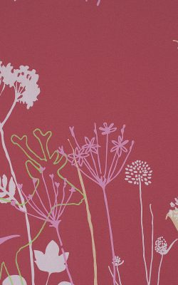 کاغذ دیواری طرح گل اتاق خواب مدرن کد 48921 آلبوم لِف