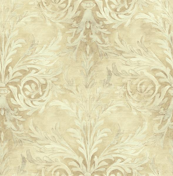 کاغذ دیواری گل دار با طرح داماسک کد 21401 آلبوم اسپلانده