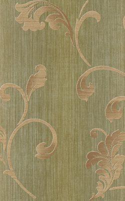 کاغذ دیواری طرح دار برجسته سبز برای پذیرایی کد 50304 آلبوم دورچستر