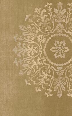 کاغذ دیواری طرح گل با رنگ طلایی مناسب منزل کد 50404 آلبوم دورچستر