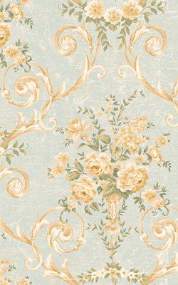 آلبوم کاغذ دیواری گلدار آمریکایی برای پذیرایی با کد 50502 آلبوم دورچستر