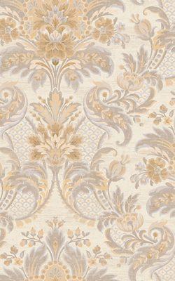 کاغذ دیواری گل داماسک ساخت آمریکایی برای پذیرایی با کد 50903 از کاتالوگ دورچستر