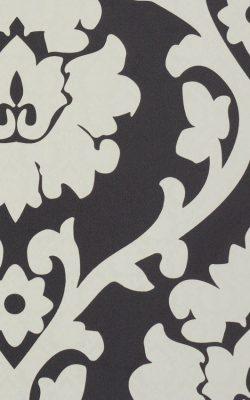کاغذ دیواری گل داماسک طرح دار تخفیف خورده قابل شستشو از آلبوم بروکانته با کد 45944