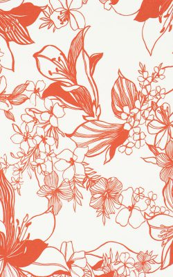 کاغذ دیواری گل دار مدرن از آلبوم استایل استیت منت با کد 46293 ساخت هلند