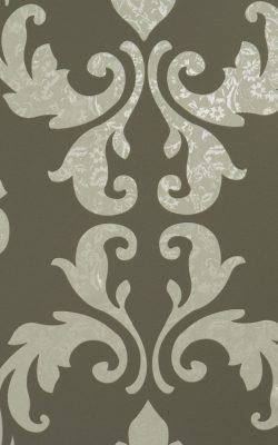کاغذ دیواری با طرح گل داماسک کاملا قابل شستشو از آلبوم گلامورس با کد 46742