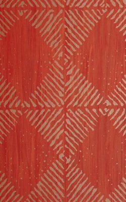 کاغذ دیواری طرح دار قرمز طلایی تخفیف خوره از آلبوم مکاسار فرانسوی کد 9690477