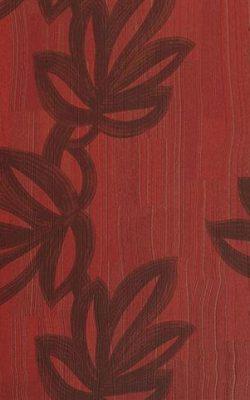 کاغذدیواری بافت دار طرح برگ قرمز رنگ از آلبوم مکاسار فرانسوی کد 9700238