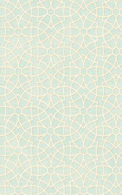 کاغذدیواری طرح هندسی رنگ سبز ملایم از آلبوم لاکچری داماسک فولیو برند سیبروک آمریکا 30301