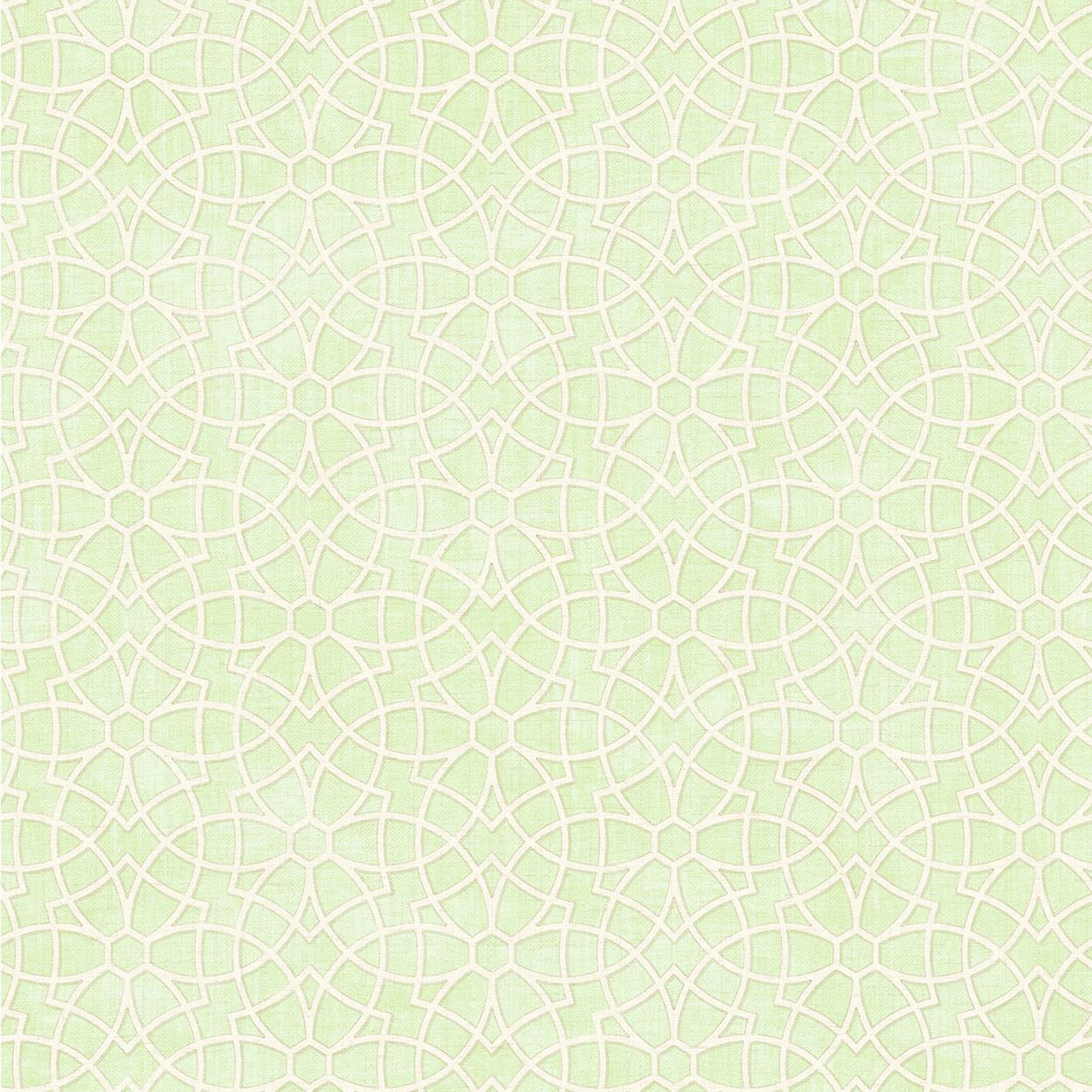 کاغذدیواری رنگ سبز ملایم از آلبوم داماسک فولیو برند سیبروک آمریکا 30304