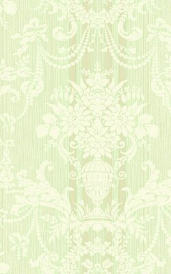 کاغذ دیواری گل داماسک کلاسیک از آلبوم داماسک فولیو برند سیبروک آمریکا کد 30802
