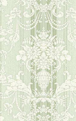 کاغذ دیواری مجلل برای پذیرایی لوکس برند سیبروک ساخت آمریکا از آلبوم داماسک فولیو 30806