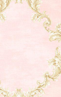 کاغذ دیواری طرح داماسک صورتی از آلبوم داماسک فولیو برند سیبروک آمریکا کد 31003