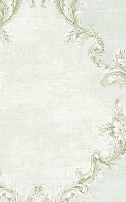 کاغذ دیواری طرح داماسک آبی ملایم تخفیف خورده ساخت آمریکا از آلبوم داماسک فولیو 31008