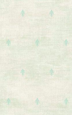 کاغذ دیواری گل ریز آبی ملایم برای اتاق خواب ساخت آمریکا از آلبوم داماسک فولیو ۳۱۱۰۴