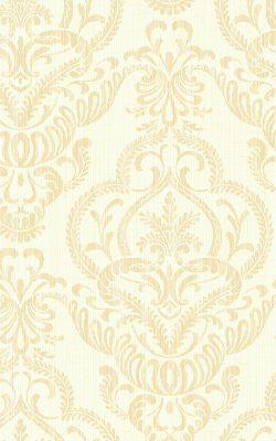 کاغذدیواری طرح گل کلاسیک از آلبوم داماسک فولیو برند سیبروک آمریکا 31202