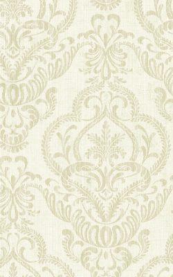 کاغذدیواری طرح دار لاکچری سبز رنگ از آلبوم داماسک فولیو برند سیبروک آمریکا 31208