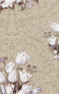 کاغذ دیواری گل دار هلندی برای منزل اروپایی با برند بی ان از آلبوم داتچ مستر 17804