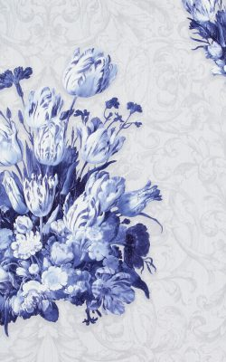 کاغذ دیواری گل دار هلندی تخفیف دار با برند بی ان از آلبوم داتچ مستر 17805