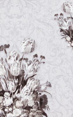 کاغذ دیواری مسکونی گل دار تخفیف خورده با برند بی ان از آلبوم داتچ مستر 17806