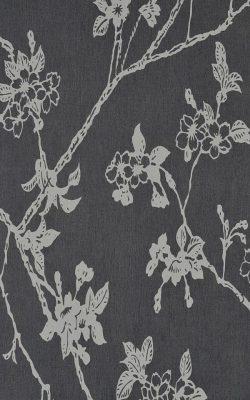 کاغذ دیواری طرح شاخه گل دار ساخت هلند قابل شستشو کد 46043 چکران