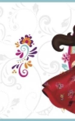 بوردر عروسکی دخترانه استاروارز خارجی با تخفیف ساخت آمریکا DY0160BD