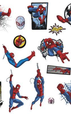 برچسب دیواری مرد عنکبوتی از کاتالوگ استار وارز ساخت آمریکا کد RMK4453SCS