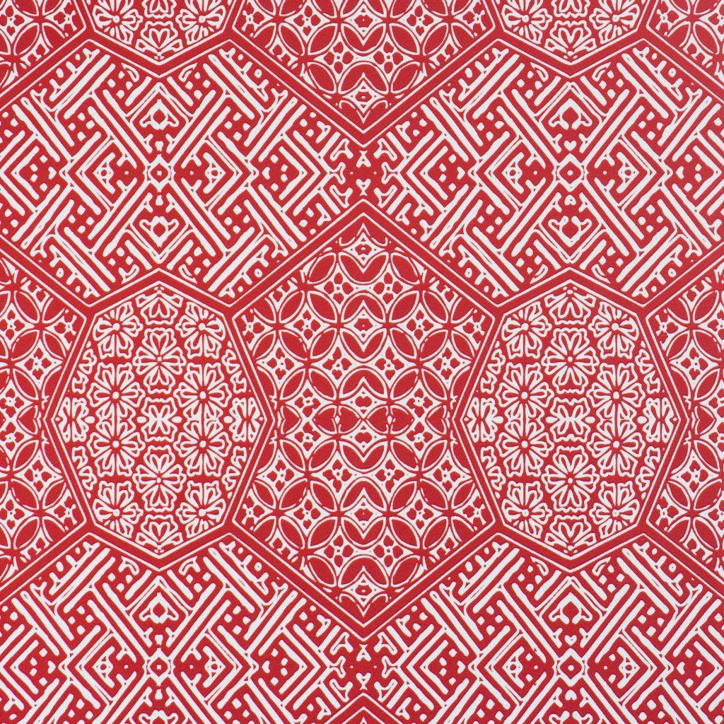 کاغذ دیواری قرمز سه بعدی تخفیف دار اروپایی ساخت کشور هلند کاتالوگ ایمپالس کد 48321