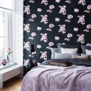 کاغذ دیواری اتاق خواب عروس