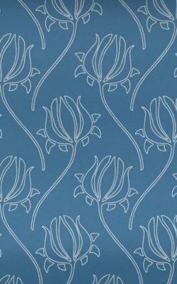 کاغذ دیواری گل دار با برند بی ان قابل شستشو از آلبوم گلامور Glamour 43040