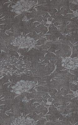 کاغذدیواری گلدار طوسی سیاه اروپائی Newchacran BN نیوچکران 18420